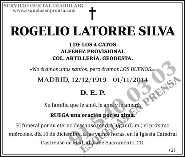 Rogelio Latorre Silva
